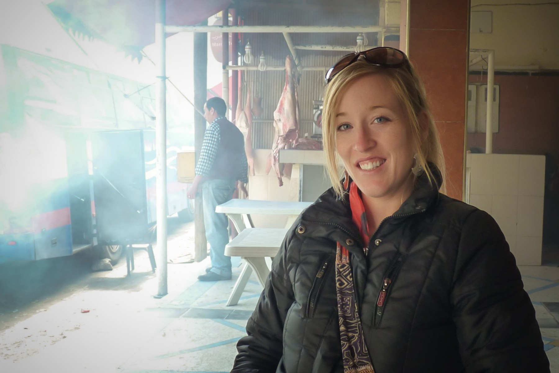 Roadside Butcher | Tizi n' Tichka Pass, Morocco