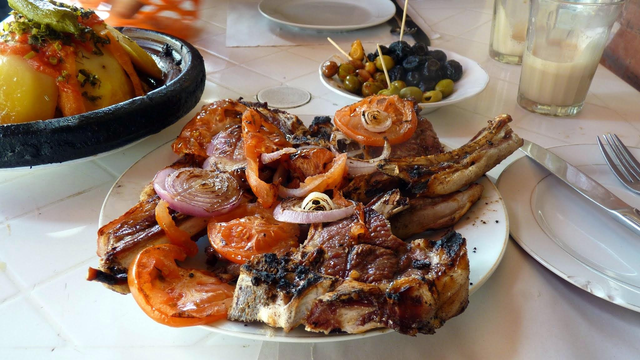 lamb lunch / chef chris colburn
