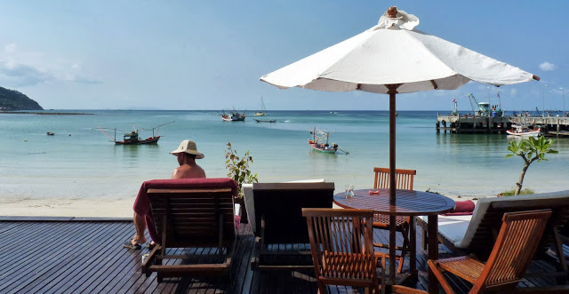 Mandalai Hotel, Mandalay Hotel, Ko Pha Ngan, Koh Phangnan, Thailand, Chef Chris Colburn