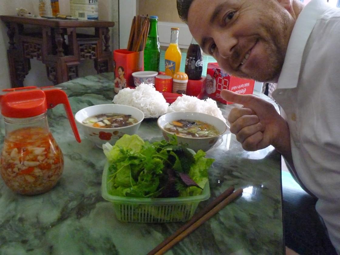 Bun Cha / Bún chả Hà Nội / Chef Chris Colburn