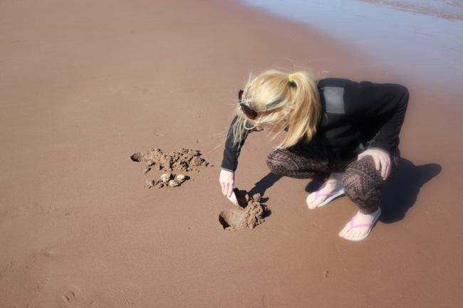 Clam Digging PEI / Panmure Island / PEI / Prince Edward Island