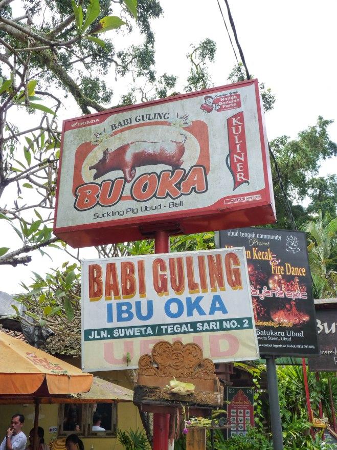 Babi Guling / Ibu Oka / Ubud, Bali