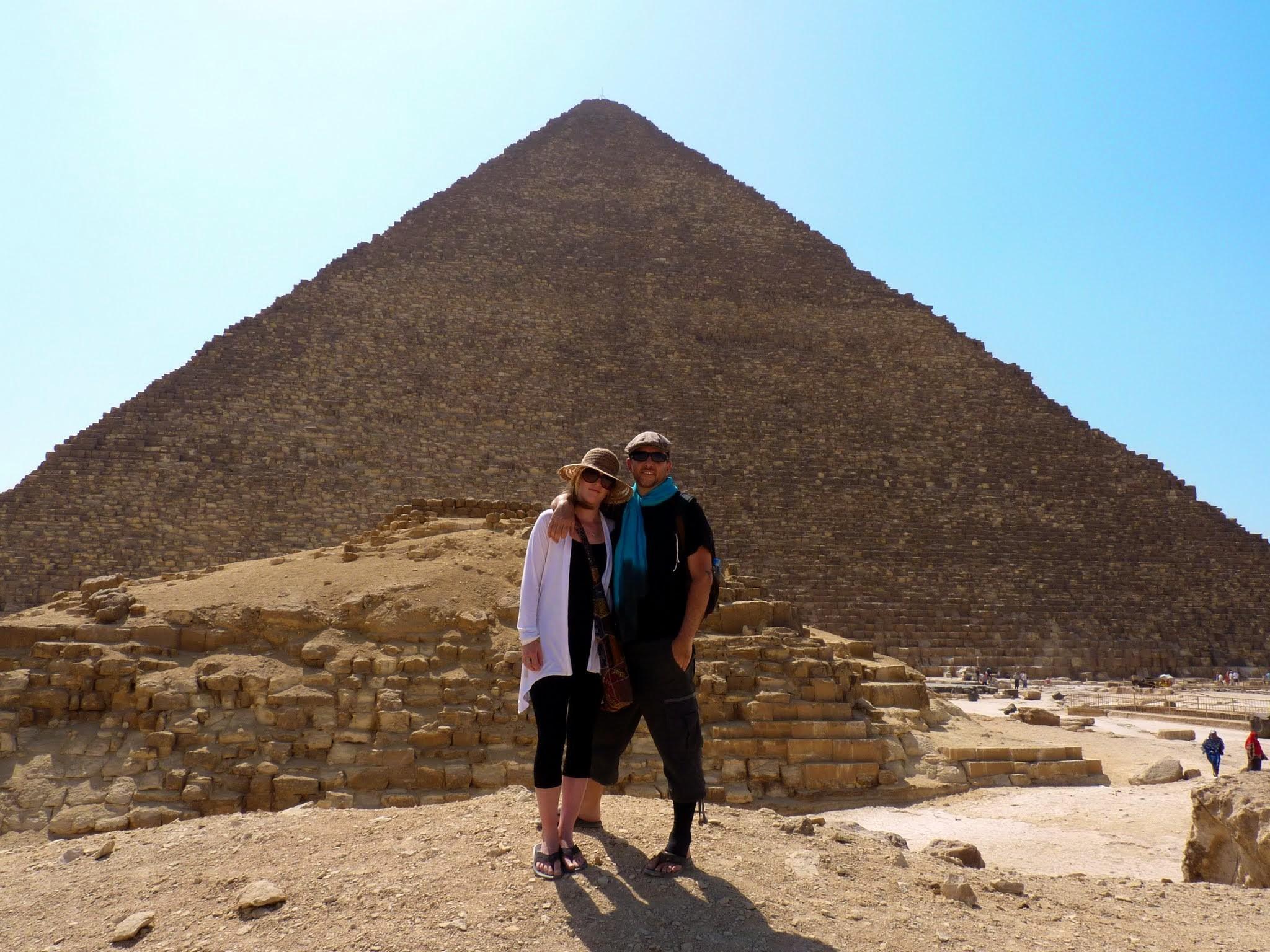 Khufu, Khafre, & Kentucky Fried Chicken | Giza, Egypt