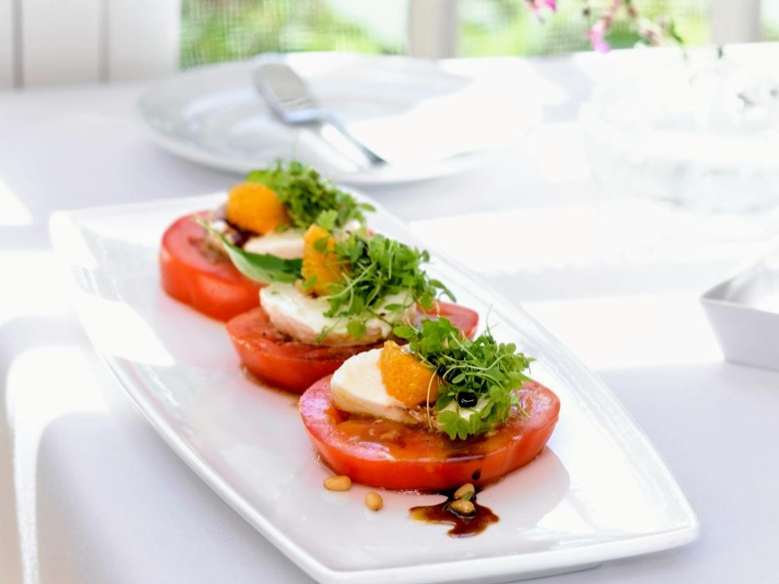 Tomato Salad Chef Chris Colburn