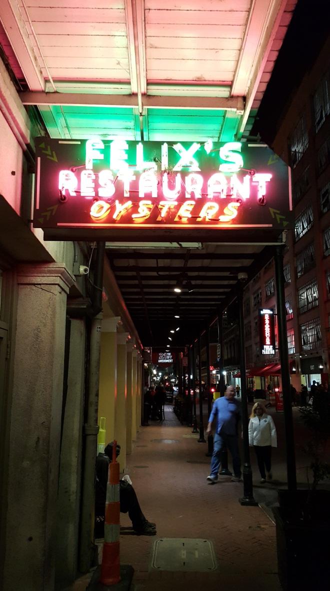 Felix's Oyster Bar
