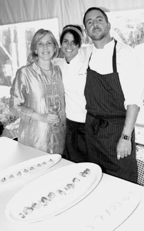 Susan Handy | Chef Lauren Marshall | Chef Chris Colburn | The Nantucket Food and Wine Festival